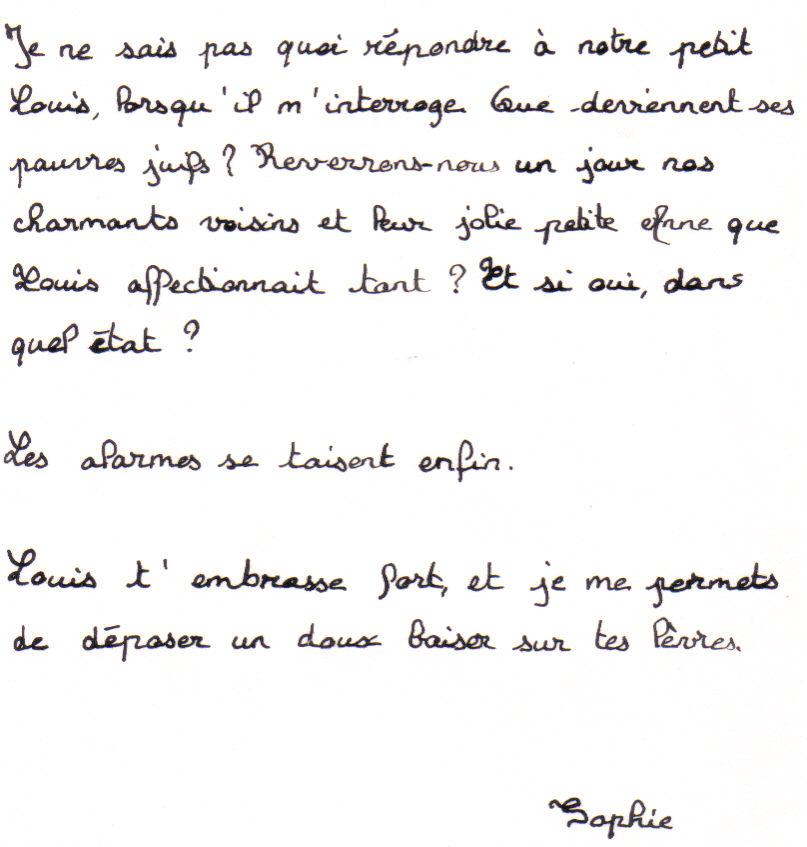 lettre amitie